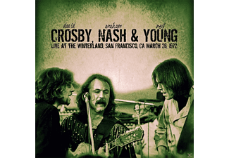 David Crosby, Graham Nash, Neil Young - Live At The Winterland,San Francisco - (CD)