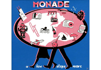 Monade - A Few Steps More - (CD)