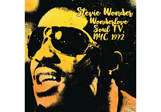 Stevie Wonder - Wonderlove Soul TV,Nyc 1972 - (CD)