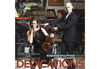 Philippens/Quentin - Dedications - (CD)