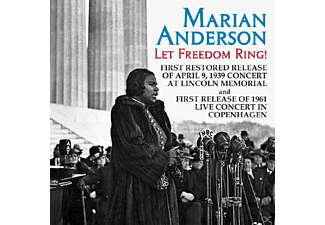 Marian Anderson - Let Freedom Ring - (CD)