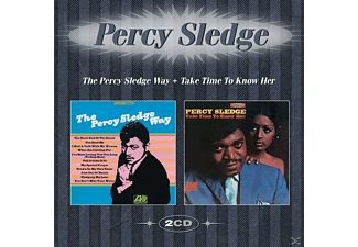 Percy Sledge - The Percy Sledge Way+Take Time To Know Her - (CD)