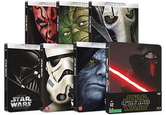 Star Wars Complete Steelbook Collection | Blu-ray