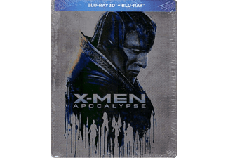 X-Men: Apocalypse Steelbook Blu-ray 3D