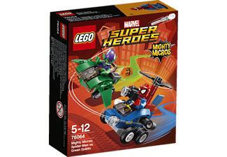 76064 Mighty Micros: Spider-Man vs. Green Goblin
