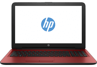 HP 15-ay176ng, Notebook mit 15.6 Zoll Display, Core™ i5 Prozessor, 8 GB RAM, 256 GB SSD, Radeon R5 M430, Cardinal Red