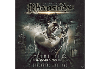 Luca Turilli´s Rhapsody - Prometheus:Dolby Atmos Experience,The - (Blu-ray + CD)