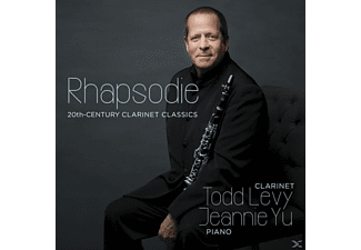 Todd Levy - Rhapsodie:20th Century Clarinet Classics - (CD)