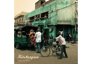 The KutiMangoes - Made in Africa - (CD)