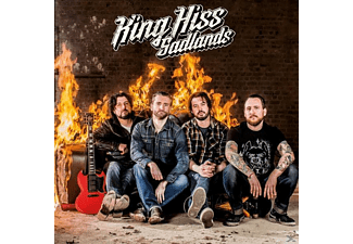 King Hiss - Sadlands - (CD)