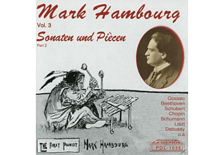 Mark Hambourg - Mark Hambourg,Vol.3,Sonaten und Piècen,Part 2 - (CD)
