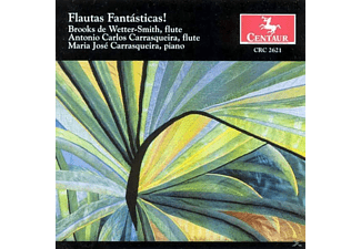 Brooks de Wetter-Smith,Maria Jose Carrasqueira,+ - Flautas fantasticas - (CD)