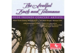 Olde Friends Concert Artists - The Soulful Bach and Telemann - (CD)