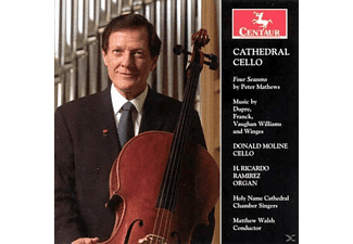 Walsh - Cathedral Cello - (CD)