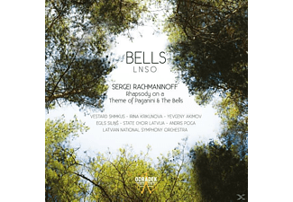 Latvian National Symphony - Bells - (CD)