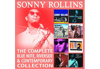 Sonny Rollins - The Complete Blue Note,Riverside & Contemporary - (CD)