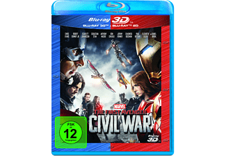 The First Avenger: Civil War 3D +2D Nachfolgeprodukt [3D Blu-ray (+2D)]
