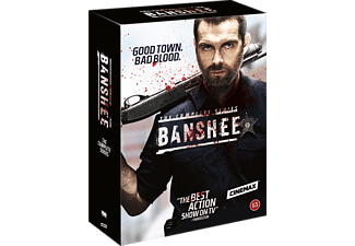 Banshee S1-4 Action DVD
