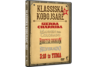 Klassiska Kobojsare Vol. 2 Action DVD