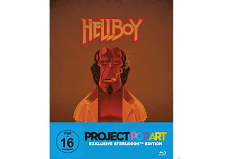 Hellboy (DC Popart Steel-Edition) [Blu-ray]