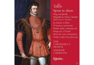 Andrew Carwood, The Cardinall's Musick - Spem in Alium/+ - (CD)