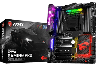 MSI X99A Gaming Pro Carbon DDR4 GLAN Sata Express M.2 Port Anakart