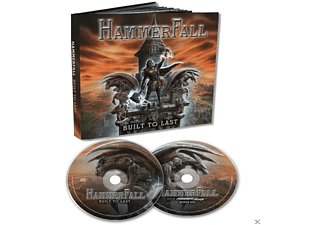 Hammerfall - Built To Last (CD+DVD Mediabook) - (CD + DVD Video)