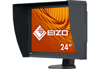 EIZO CG247X 24.1 Zoll WUXGA Monitor (1x DisplayPort, 1x DVI-D, 1x HDMI, 2 Up-/ 2 Down-Stream Kanäle, 10 ms Reaktionszeit)
