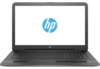 HP 17-x079ng, Notebook mit 17.3 Zoll Display, Pentium® Prozessor, 4 GB RAM, 1 TB HDD, Intel® HD-Grafikkarte 405, Jack Black
