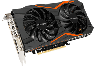 GIGABYTE GeForce GTX 1050 Ti G1 Gaming 4GB (GV-N105TG1 GAMING-4GD), NVIDIA, Grafikkarte