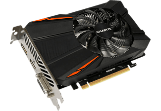 GIGABYTE GeForce GTX 1050 D5 2GB (GV-N1050D5-2GD) 2 GB, GTX 1050, NVIDIA, Grafikkarte