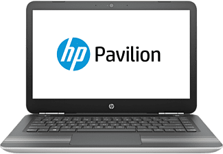 HP Pavilion 14-al171ng, Notebook mit 14 Zoll Display, Core™ i7 Prozessor, 1 TB HDD, 128 GB SSD, GeForce GTX 940MX, Natural Silver