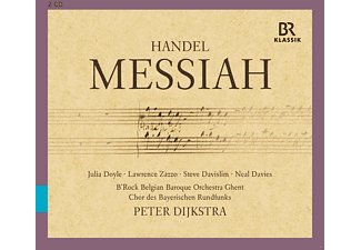B'rock, Chor Des Baye, Peter Dijkstra - Messiah - (CD)