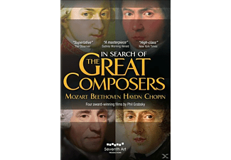 Phil Grabsky - In Search of The Great Composers - (DVD)