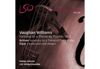 Lso String Ensemble - Fantasia on a Theme by Thomas Tallis/Variations/+ - (SACD Hybrid)