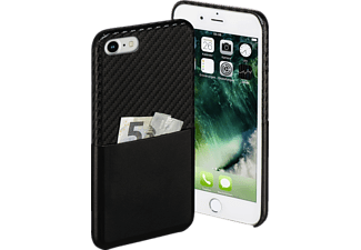 HAMA Carbon, Backcover, iPhone 7, Carbon-PU, Schwarz