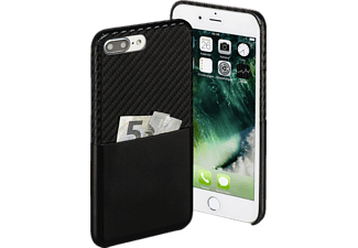 HAMA Carbon, Backcover, iPhone 7 Plus, Carbon-PU, Schwarz