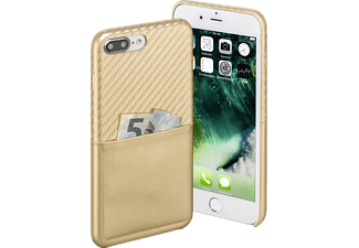 Carbon Backcover Apple iPhone 7 Plus Carbon-PU Gold