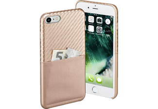 HAMA Carbon, Backcover, Apple, iPhone 7, Carbon-PU, Rosegold