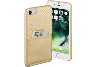 Carbon Backcover Apple iPhone 7 Carbon-PU Gold