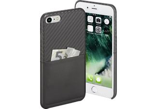 HAMA Carbon iPhone 7 Handyhülle, Anthrazit
