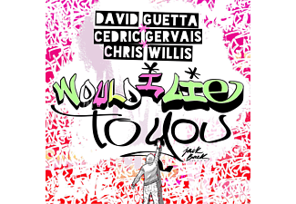 David Guetta, Cedric Gervais, Chris Willis - Would I Lie To You - (Maxi Single CD)