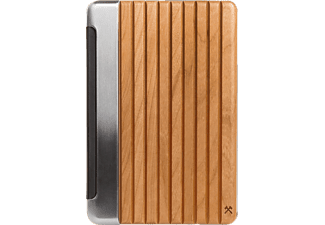 WOODCESSORIES EcoGuard, Flipcover, iPad Pro, 9.7 Zoll, Silber/Kirsche
