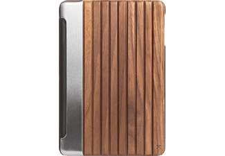 WOODCESSORIES EcoGuard, Flipcover, iPad Pro, 9.7 Zoll, Silber/Walnuss