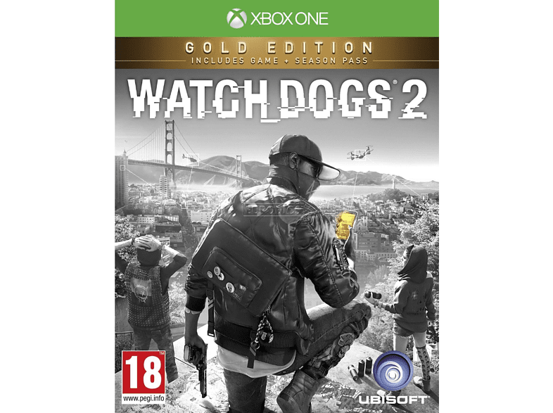 Watch Dogs 2 Gold Edition gaming games xbox one games