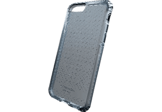 CELLULAR LINE Tetra Force, Backcover, Apple, iPhone 7, TPU/Versaflex™/Polycarbonat, Schwarz