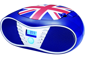 BIGBEN CD58, Radiorecorder, Union Jack