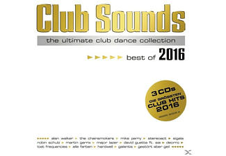 VARIOUS Club Sounds-Best Of 2016 Electronica/Dance CD