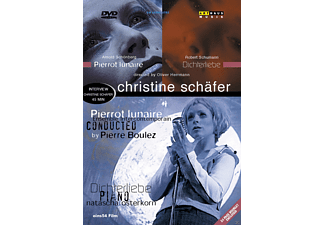 Christine Schäfer, Natascha Osterkorn, Ensemble Intercontemporain - Pierrot Lunaire / Dichterliebe - (DVD)