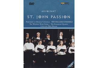 The Western Wind Choir, The Evangelist Quartet, Hilliard Ensemble - Johannes-Passion - (DVD)